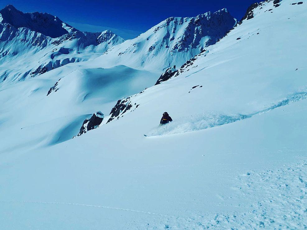 Klettergurt Skitouren : Aufbaukurs skitouren und tiefschnee selber planen spuren