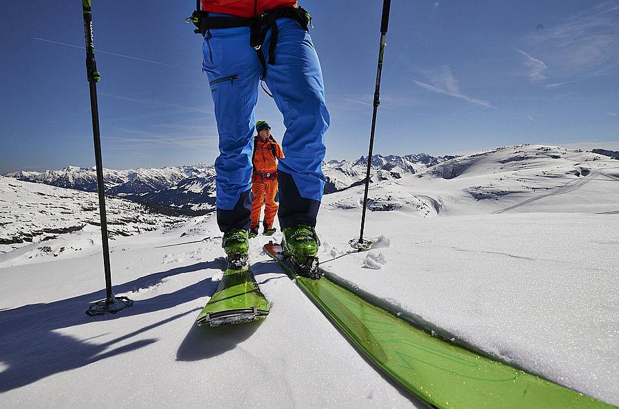 Klettergurt Skitouren : Skitouren weekend von hütte zu im sellraintal
